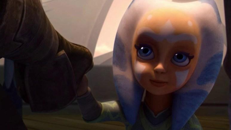Little Ahsoka at the Jedi Temple