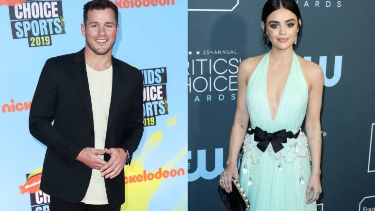Colton Underwood and Lucy Hale