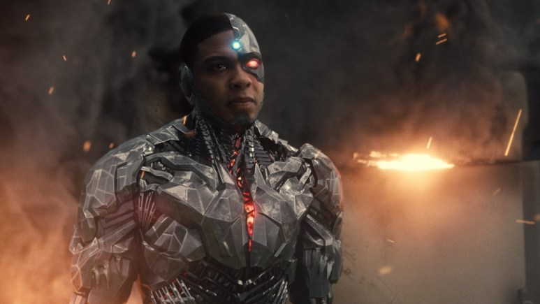 Cyborg in The Flash movie Fisher.