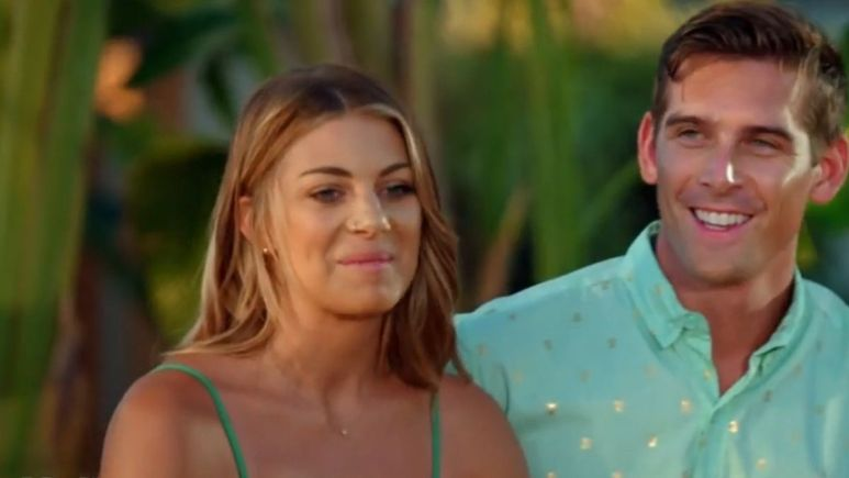 Corey and Erin from Temptation Island