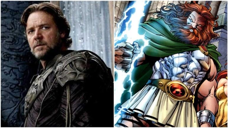 Russell Crowe as Zeus