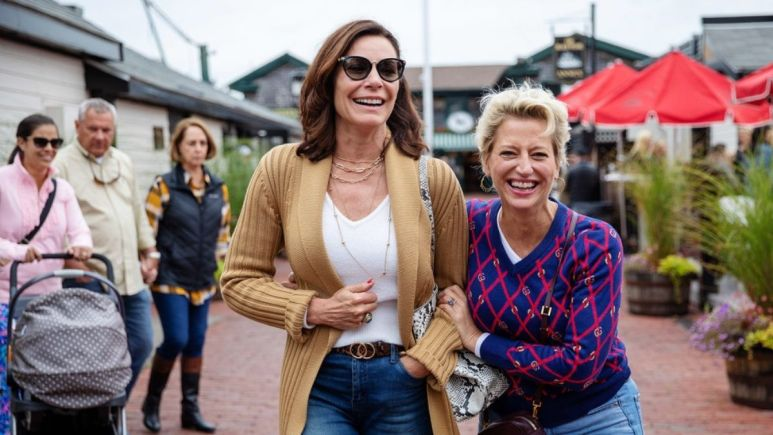 RHONY star Luann de Lesseps says this season of the show was less angry without Dorinda Medley