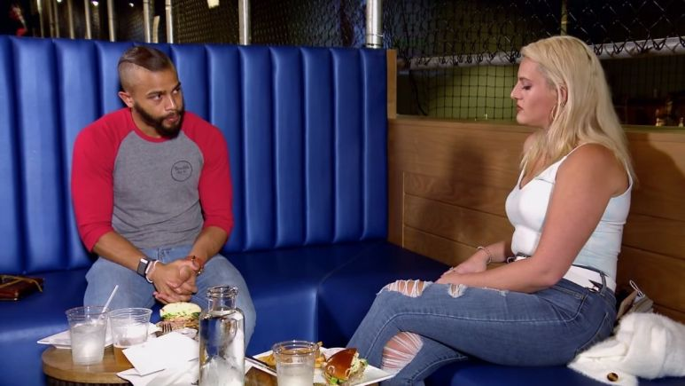 MAFS star Clara Fergus gets upset with Ryan as they discuss Decision Day