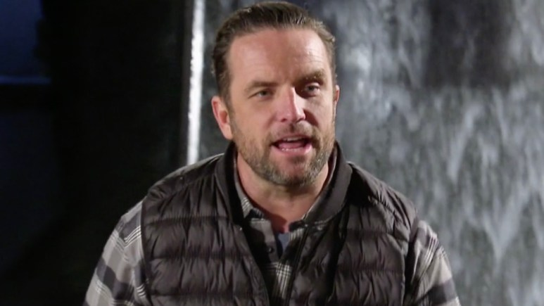 the challenge host tj lavin during all stars spinoff episode