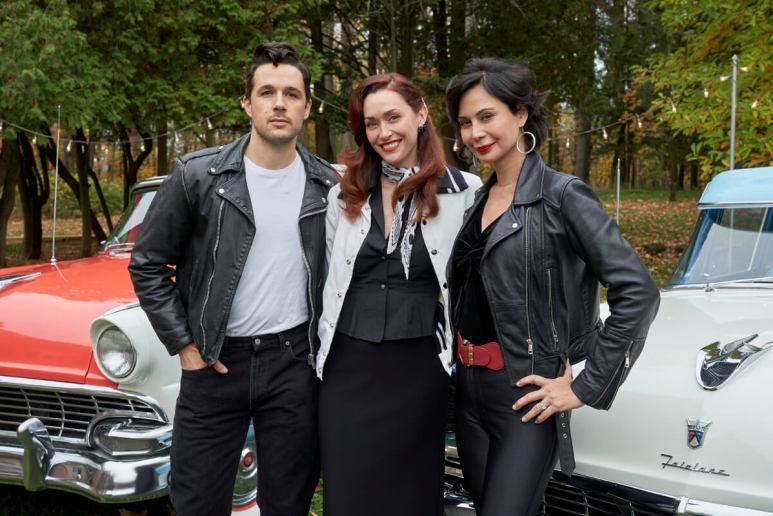 Marc Bendavid, Sarah Power, and Catherine Bell