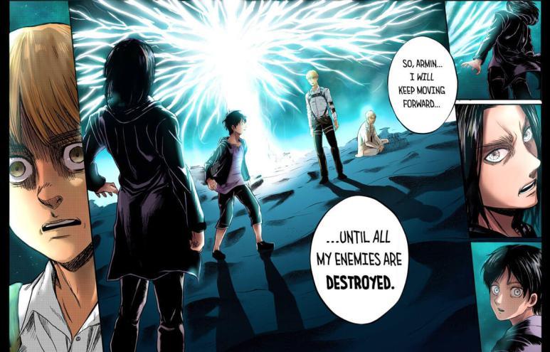 AoT Requiem Eren Armin