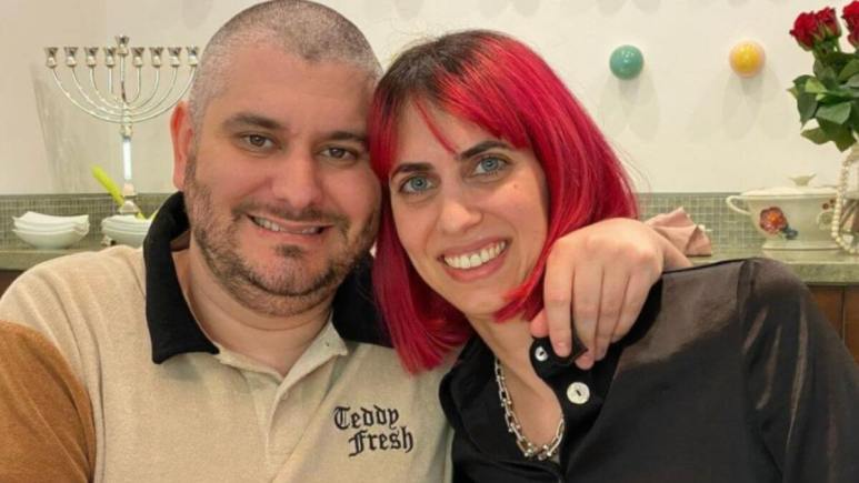 Image of Hila and Ethan Klein.