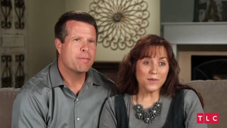 Jim Bob and Michelle Duggar in a confessional.