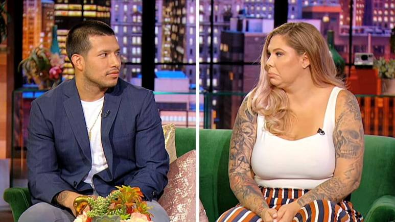 Javi Marroquin and Kail Lowry of Teen Mom 2