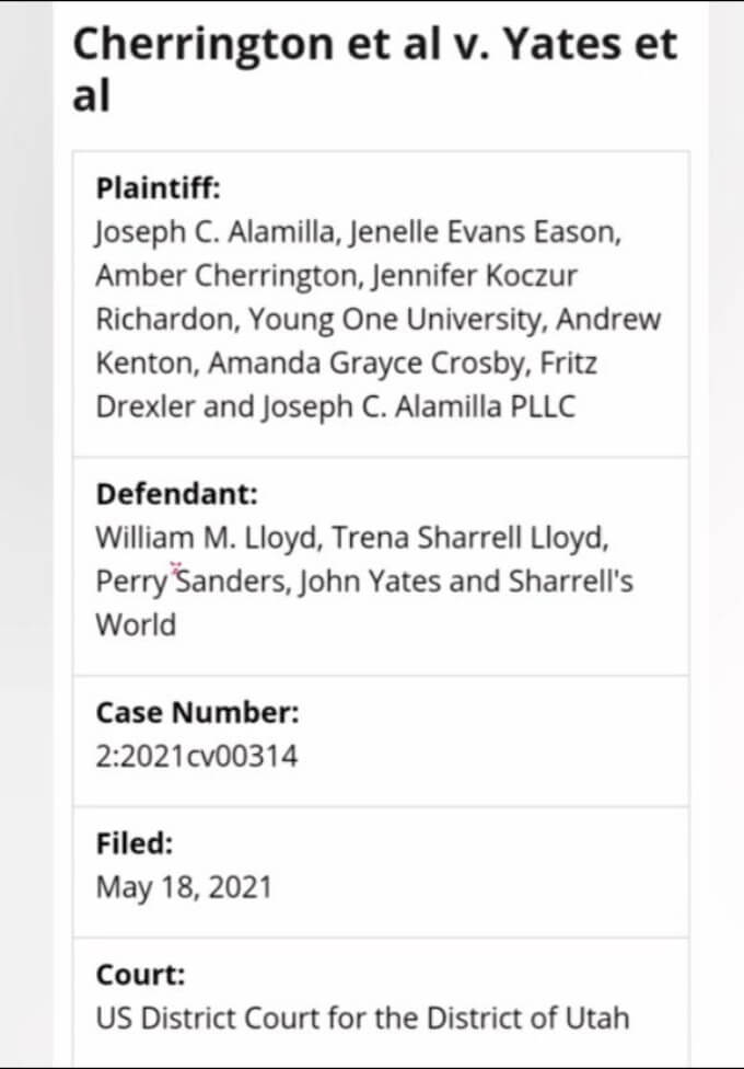 Jenelle Evans and John Yates' lawsuit on Reddit