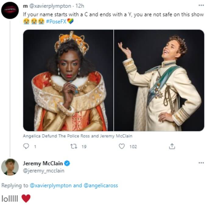 Jeremy McClain jokes with fans