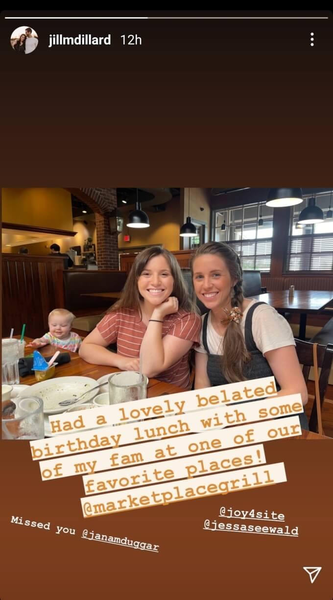 Jill Dillard of Counting On on Instagram