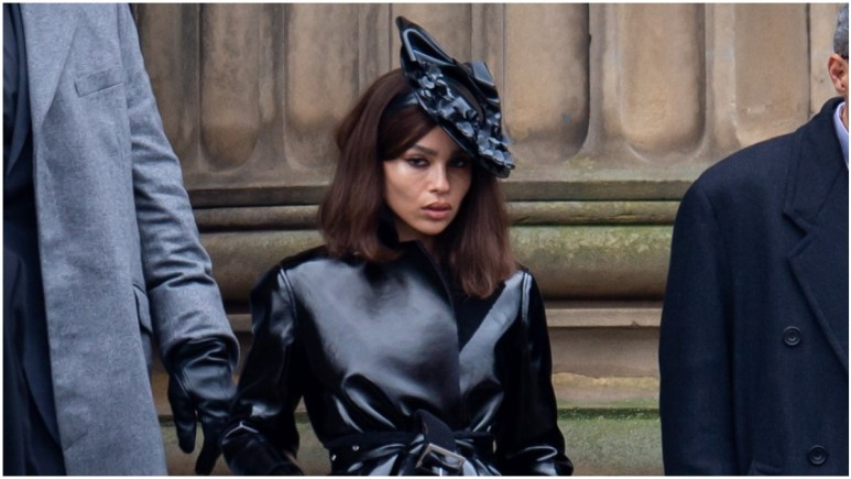 The Batman: new featurette has first look at Zoe Kravitz's Catwoman