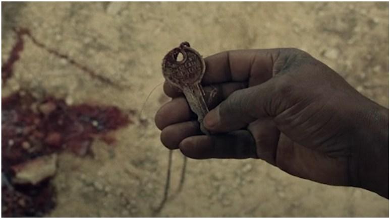 Morgan finds a key in Episode 1 of AMC's Fear the Walking Dead Season 6