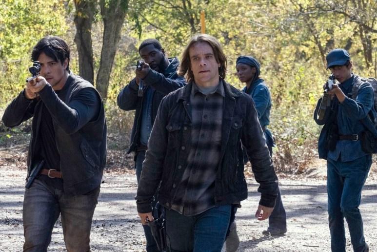 Nick Stahl as Riley in Fear the Walking Dead