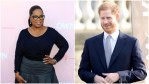 Oprah and Harry attend celebrity functions