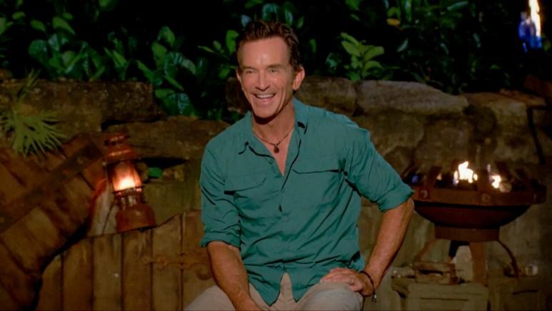 Host Jeff Probst On Survivor 40