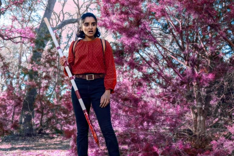 Sahana Sprinivasan stars as Athena, as seen in Episode 12 of AMC's Fear the Walking Dead Season 6