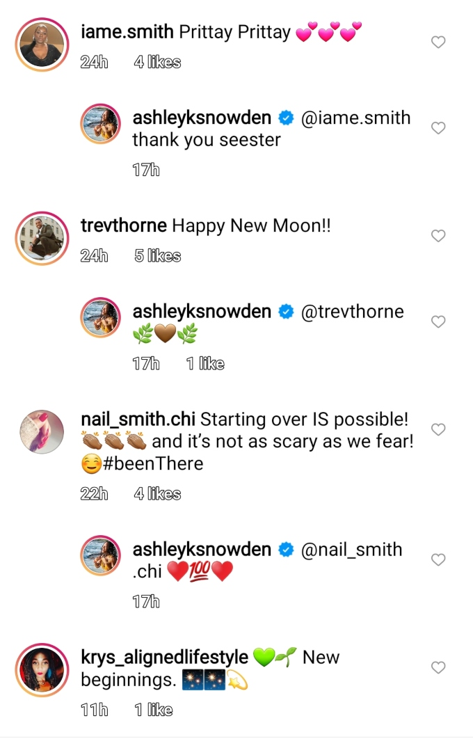 Ashley Snowden of Seeking Sister Wife on Instagram