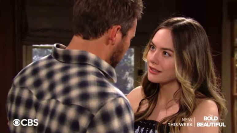 Liam and Hope on The Bold and the Beautiful.
