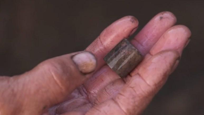 An archaeological find on Oak Island