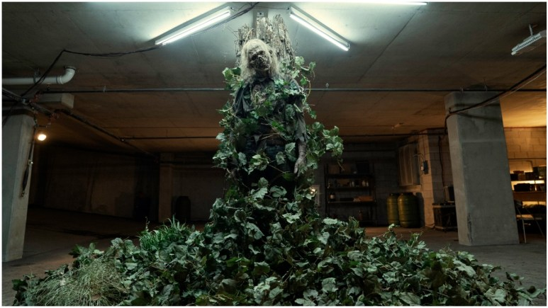 One of the undead is wrapped in ivy and idolized in Episode 11 of AMC's Fear the Walking Dead Season 6