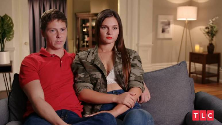 Julia Trubkina and Brandon Gibbs film for 90 Day Fiance: Happily Ever After?