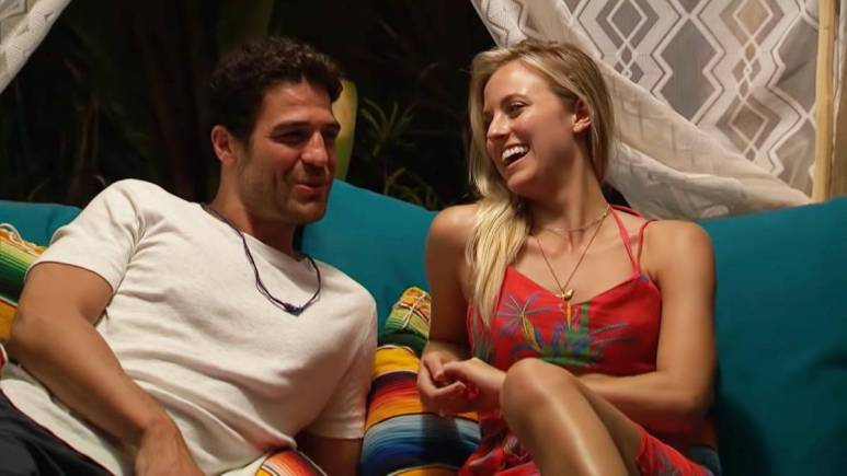 Kendall Long and Joe Amabile film for Bachelor in Paradise
