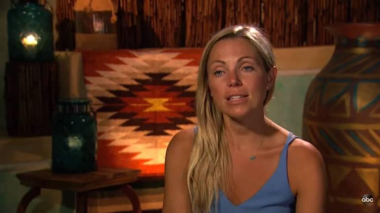 Sarah Herron films for Bachelor in Paradise