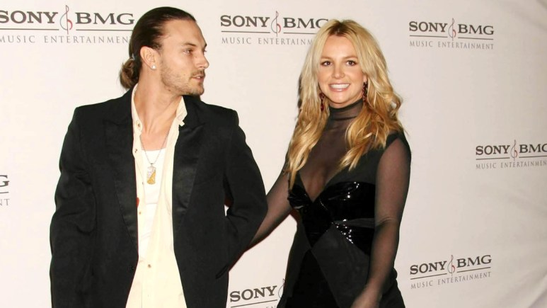 Britney Spears and Kevin Federline on the red carpet