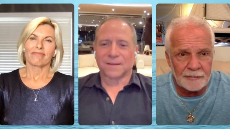 Captain Glenn Shephard's boat crash was discussed in an intervie with Captain Sandy Yawn and Captain Lee Rosbach.