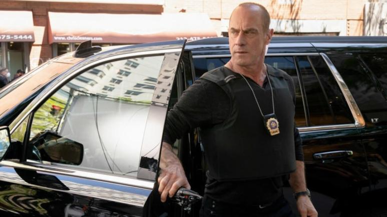 Christopher Meloni as Elliot Stabler in Law & Order Organized Crime