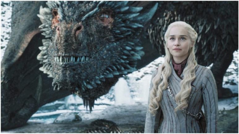 Emilia Clarke as Daenerys Targaryen, as seen in HBO's Game of Thrones