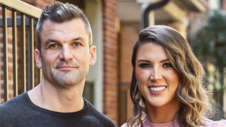 Haley Harris and Jacob Harder pose for post wedding photos