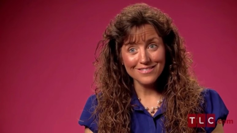 Michelle Duggar 19 Kids and Counting confessional.