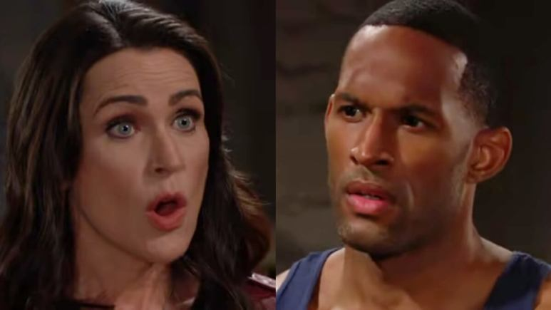 Quinn and Carter on The Bold and the Beautiful..