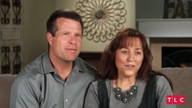 Jim Bob and Michelle Duggar .