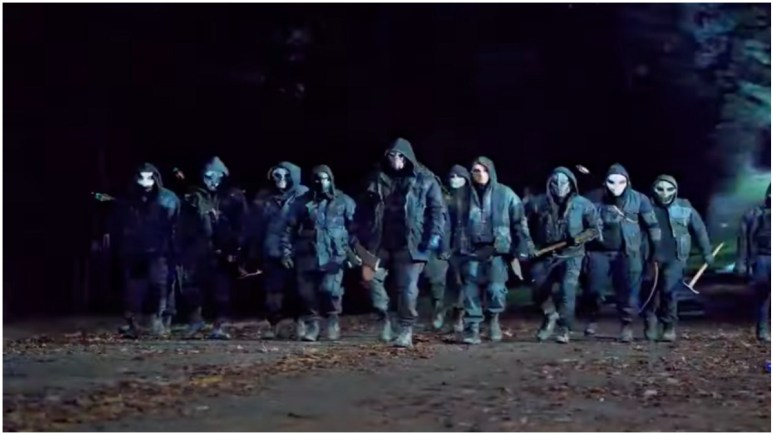 Image of the Reapers from the latest trailer for Season 11 of AMC's The Walking Dead