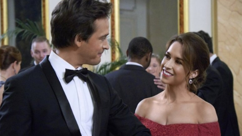 Lacey Chabert in Love, Romance and Chocolate, one of seven romantic comedies Hallmark Channel will air on the 4th of July.