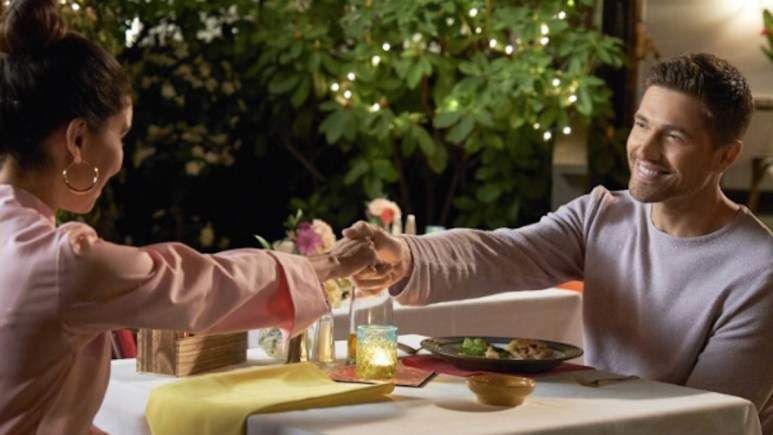 Roselyn Sanchez and Eric Winter star in Taste of Summer on Hallmark Channel.