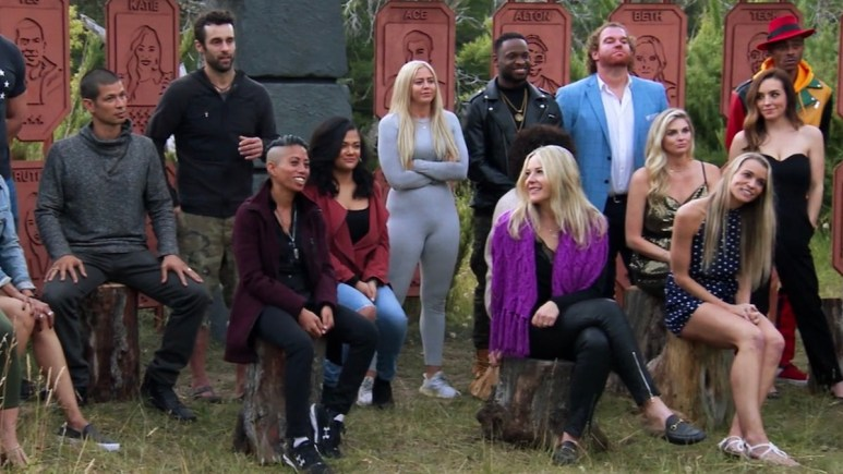 the challenge all stars cast members in episode 1 of season