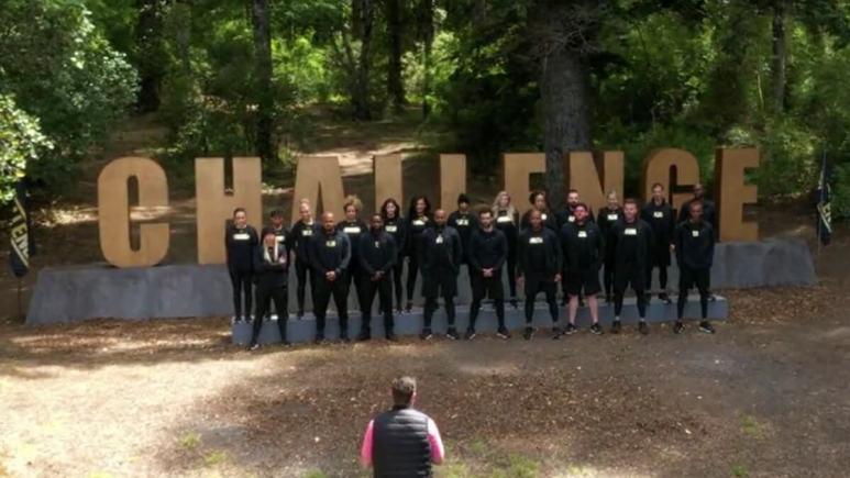 cast members of the challenge all stars in episode 1