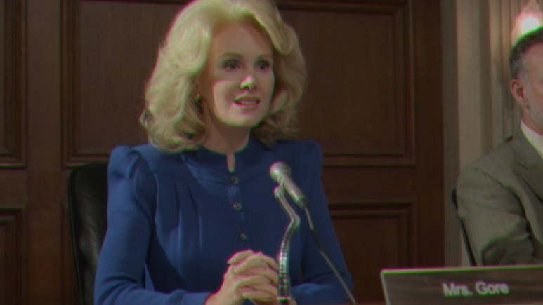 Amy Grabow as Tipper Gore, as seen in Episode 3 of FX's American Horror Stories