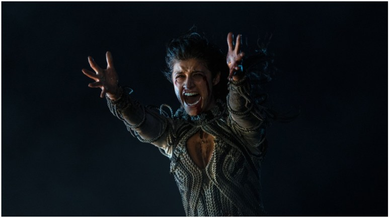 Anya Chalotra stars as Yennefer of Vengerberg, as seen in Season 1 of Netflix's The Witcher