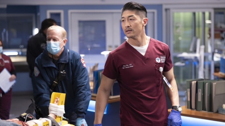 Brian Tee Plays Ethan On Chicago Med