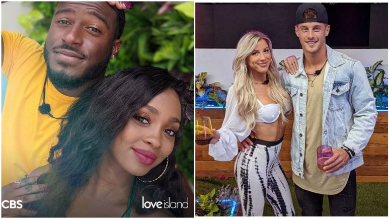Cashay and Cinco and Shannon and Josh on Love Island USA