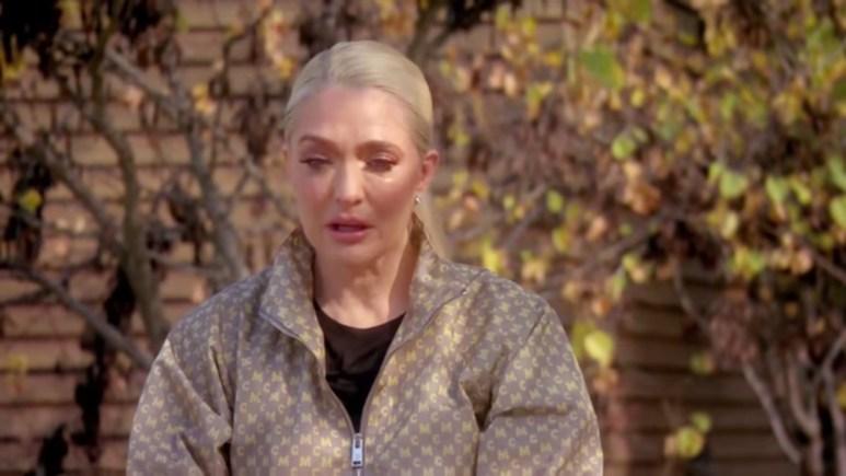 Erika Jayne RHOBH crying scene.