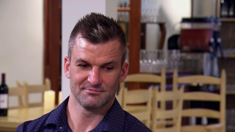 MAFS Jacob Harder looks concerned