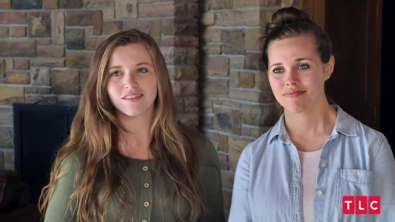 Joy-Anna and Jessa Duggar on Counting On.