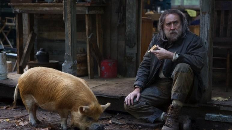Nicolas Cage in the movie Pig.